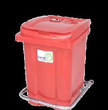 سطل 60 لیتری پدال دار